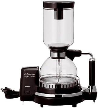 TWINBIRD siphon coffee maker dark brown CM-D853BR