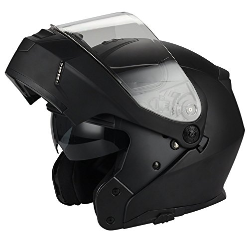 Triangle Motorcycle Helmets Modular Dual Visor Flip Up
