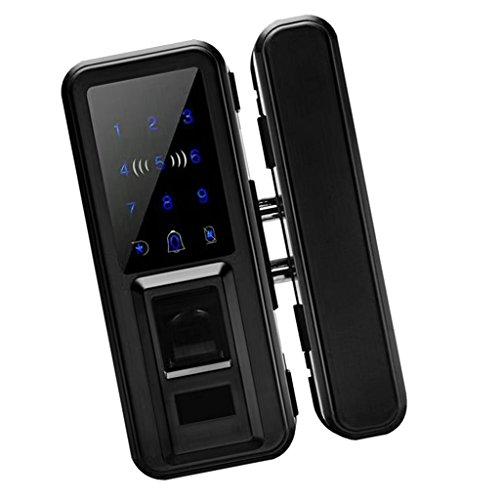 Fityle 500 Group Keyless Lock Touchscreen Deadbolt Lock Anti Peep, Keyless Lock Smart Code Door Lock Keypad Card Smart Digital Keyless Security - Black by Fityle (Image #4)