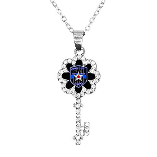 BlingDi Unique Heroes Live Forever Memorial Design Leaf of Key Bracelet Jewelry