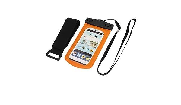 Amazon.com: eDealMax Funda impermeable seco Bolsa Bolsa de la cubierta de la Manga de Orange Para la galaxia S3 i9300: Electronics