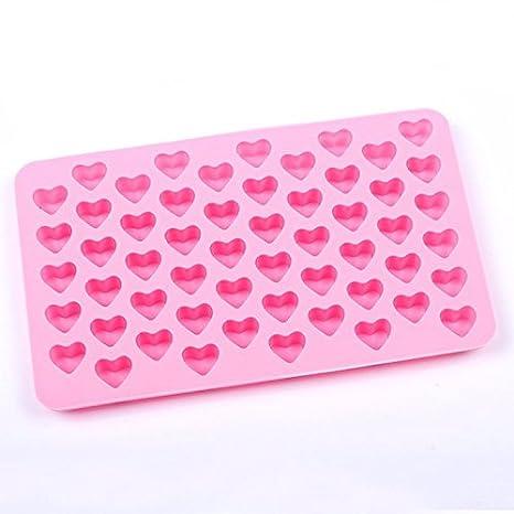 Molde de 48 letras alfabeto repostería hielo gelatina de molde molde de chocolate Mousse molde de caramelo silicona: Amazon.es: Hogar