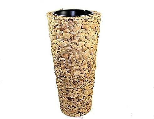 Blumenkübel-NATURE-60 Wasserhyazinthe-Pflanzkübel mit Metall ...