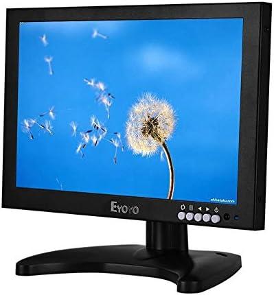 Eyoyo 10 Pulgadas IPS LED Full HD Monitor con HDMI/BNC/VGA/USB ...