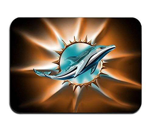 (SPEEON Custom Home Miami Dolphin Decorative Floor Mat Kitchen,Bathroom)