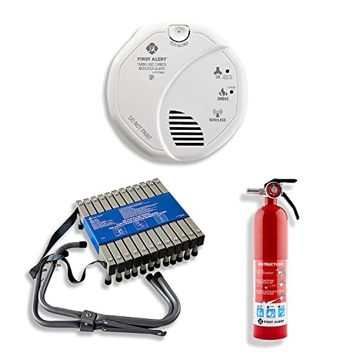 First Alert SCO501CN-3ST Battery Operated Combination Smoke