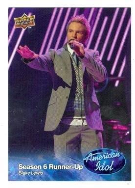 Blake Lewis trading card (Singer) 2009 Upper Deck American Idol #010 ()