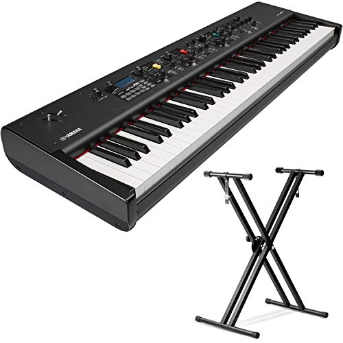 Yamaha CP73 73-Key Weighted Hammer Action Stage Piano (with Sustain Pedal and Keyboard Stand)