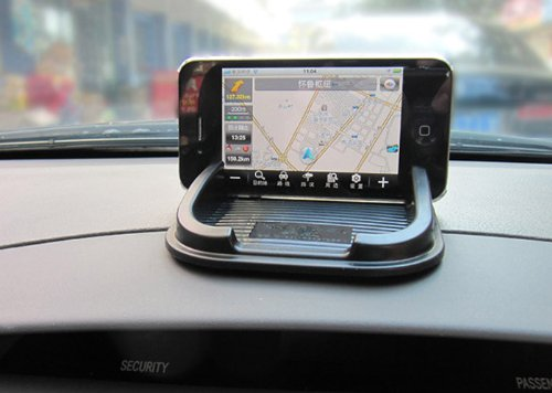 Non Slip Car Holder//Magic Sticky for Phone GPS MP4 MP3 ST01CH111 iSaddle Anti-Slip Holder