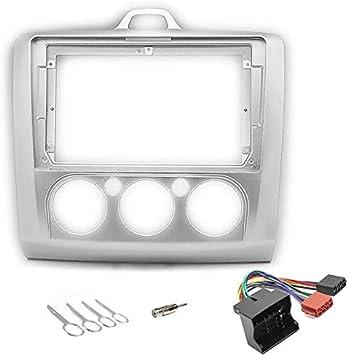 Sound Way 9 Zoll Radio Blende Einbau Rahmen Adapter Einbauset Kompatibel Mit Ford Focus 2005 2011 Ka22 630 Auto