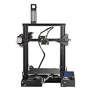 Comgrow Ender-3X Creality 3D Printer Upgraded Version with Tempered Glass and Five Nozzles by Creality 3D