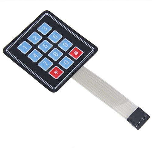 3 x 4 Matrix Membrane Switch Keypad Generic STK0114002643
