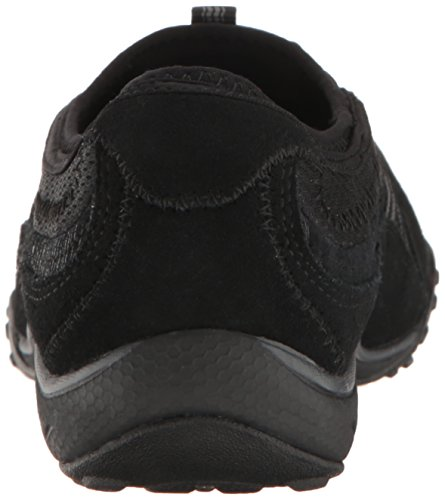 Skechers Sport Womens Womens Breathe Easy Point Sneaker Nero