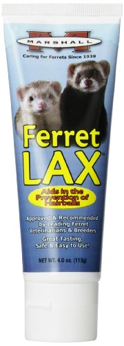 (Marshall 4-Ounce Ferret Lax Hairball and Obstruction Remedy)