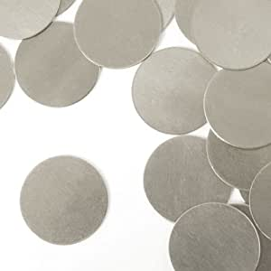 "ImpressArt, Circle, 1 1/4"", Aluminum Stamping Blanks- 24 pc."