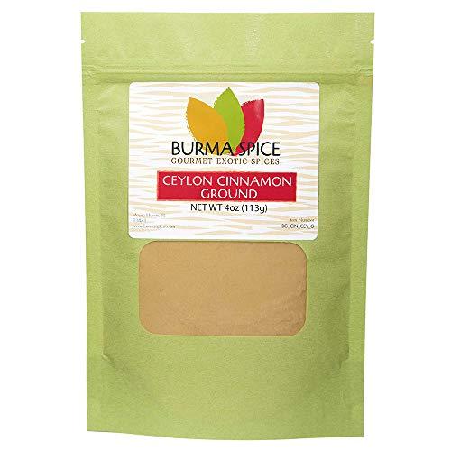 Ground Ceylon Cinnamon   Very freshly ground   Highest Premium Grade   100% Pure with no additives   Kosher Certified (4oz)