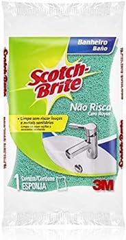 Esponja para Limpeza de Banheiro Scotch-Brite