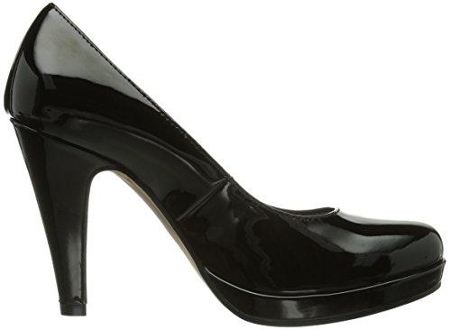 Tamaris 22426, Escarpins Femme Noir (Black Patent 018)