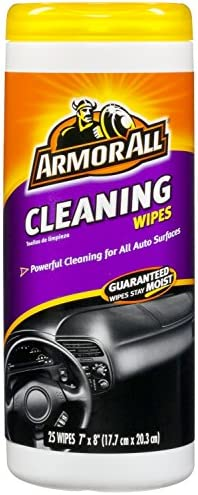 Armor All 10863 Cleaning Wipes, 2 Pack