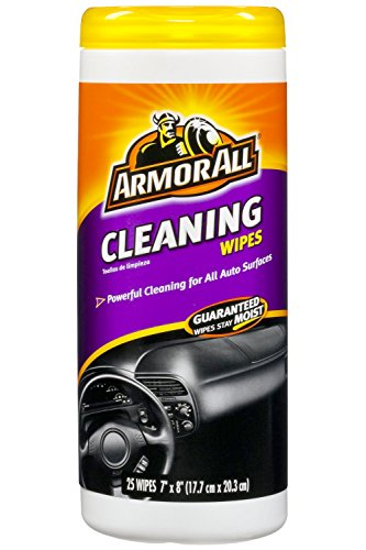 Armor All Cleaning Wipes (25 ct) - 2 Pack (Best Auto Interior Cleaning Products)