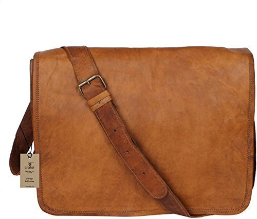 Leather Laptop Carriers'' (Crafat 15