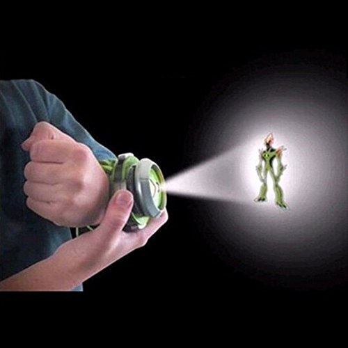 SKYZONAL Ben 10 Alien Force Omnitrix Illumintator Projector Watch Toy Gift for ()