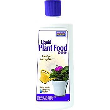 Bonide 108 037321001089 Liquid Plant Food, 8 oz, 10-10-10 Soil Fertilizer