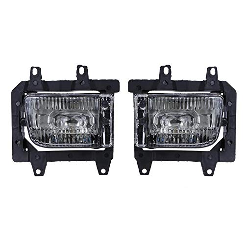 Gavita-Star - 1 Pair Car Front Bumper Driving Fog Light Automobiles Fog Lamp for BMW 3 Series E30 318i 318is 325i 1985-1993 Auto Accessories