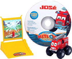 Learning Curve Truck (Learning Curve Jose the Fire Truck Monster Truck with DVD)