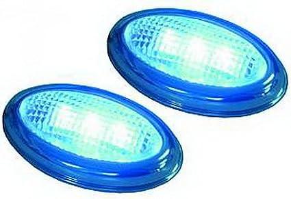 ETT LED luci di ingombro laterali con je 3 LED blu, 1755180