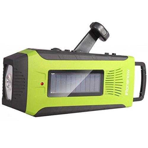iRonsnow Emergency Powered Weather Flashlight
