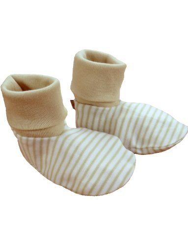 Beaming Baby Chemical Free Organic Cotton Booties (0-12 Months)