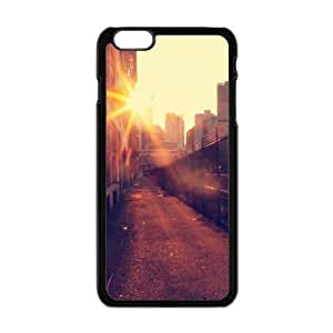 "Iphone 6 Plus Slim Case City Railway Design Cover For Iphone 6 Plus (5.5"")"