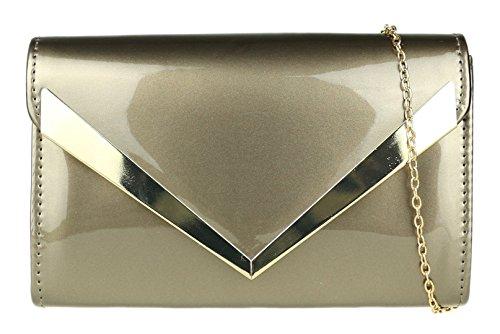 Pochette Handbags Girly étain pour femme AxCA5YS