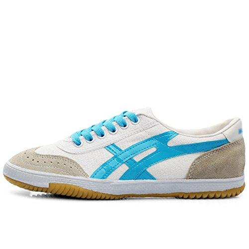 da uomo da scarpe uomo Scarpe di da scarpe scarpe blu zaffiro di bianche scarpe tela da uomo selvatici uomo XFF tendenza ballo da 84SvW8