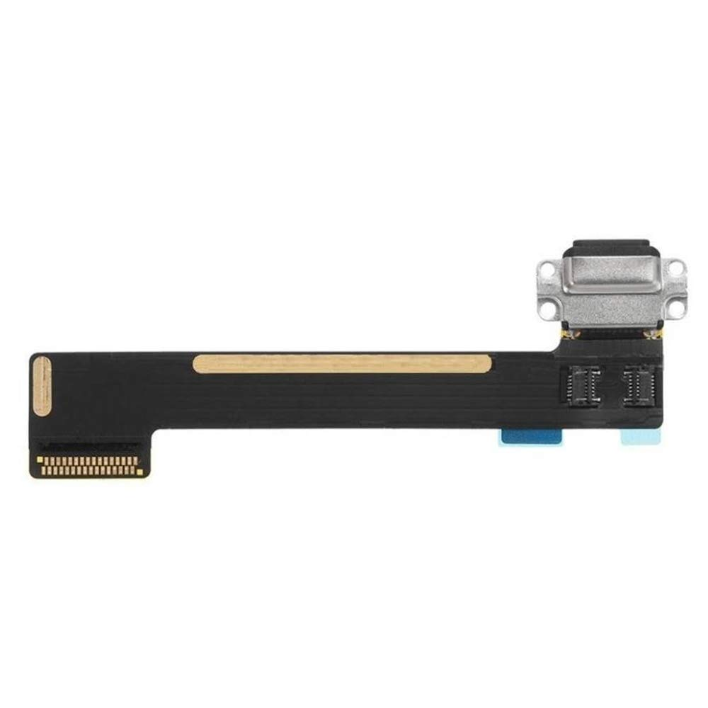 MMOBIEL Dock Connector for iPad Mini 4 White Charging Port Assembly Flex Cable incl Professional Toolkit and Pre installed adhesive incl 2 x Connector Screws