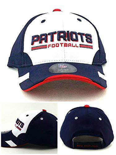 New England Patriots New NFL Proline Youth Kids Blue White Red Tech Era Hat Cap