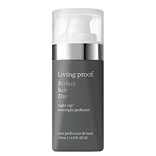 Living Proof Night Cap Overnight Perfecter – Hair Creams (Unisex, Protection, Shine, Smoothing, Softening, Use Before Bed Apply To Damp or Dry Hair Start with 2 – 3 Pumps Spread Product between Hands Evenly 01593