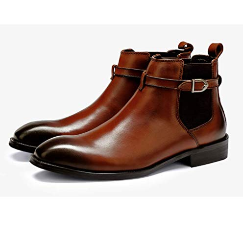 Martin Stivali da 37 Uomo Trend Indossabile Casual Brown Casual Confortevole Fashion Scarpe EtqgPwdq
