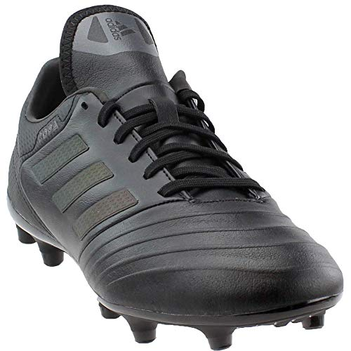 adidas Men's Copa 18.3 FG Soccer Cleats - Black/Black, 8.5 D(M) US