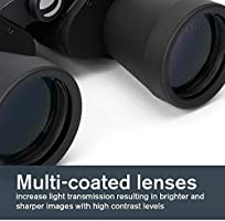 Celestron – UpClose G2 10x50 Porro Binoculars with Multi Coated BK 7 Prism Glass – Water Resistant Binoculars with Rubber Armored