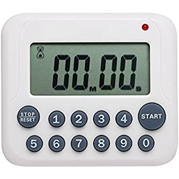 Charmant Evany Digital Kitchen Timer Magnetic Countdown Up Cooking Timer Clock With  Magnet Back And Clip,