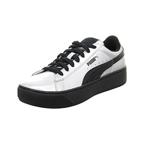 MetallicSneaker Puma Donna Platform Vikky Argento YgbfIy76v