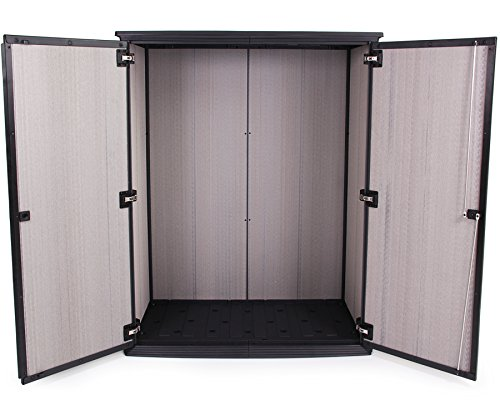 Keter Armario High Store Cobertizo caseta con bloqueo para jardín 1500 L): Amazon.es: Jardín