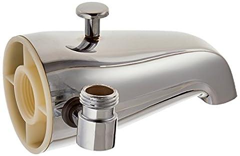 EZ-FLO 15087 Diverter Spout with Side Outlet (Tub Shower Spout)