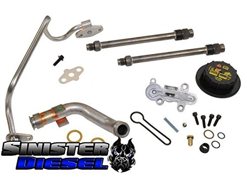 Fuel Kit Update Injection (Update Kit by Sinister Diesel | 2003-2004 6.0L Fuel Regulator Kit for PowerStroke Trucks, Includes A Bonus Blue Spring Upgrade Kit)