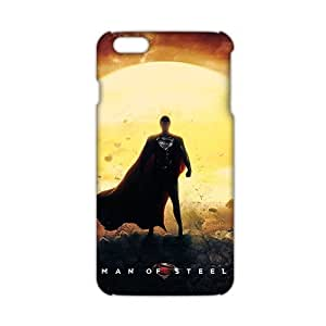 WWAN 2015 New Arrival man of steel 3D Phone Case for iphone 6 plus