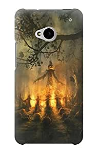 S0887 Jack Halloween Case Cover For HTC ONE M7