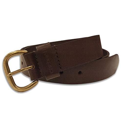 Carhartt Women's Signature Casual Belt, Jean Brown Medium
