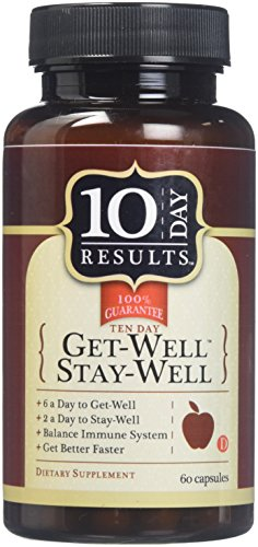 - TEN DAY RESULTS Get Well Stay Well 60 Capsules, 0.02 Pound